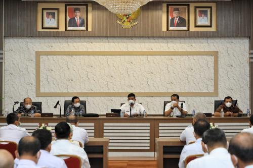 Bobby Nasution Minta OPD dan Camat Berinovasi untuk Mewujudkan Program Prioritas Kota Medan